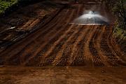 Uberaba_MG, Brasil...Obra de duplicacao na BR 050 em Uberaba...The works to turn a dual-carriage-way in BR 050 in Uberaba...Foto: LEO DRUMOND / NITRO
