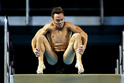 Tom Daley of Great Britain practices before the Mens 10m Platform Final in action in the Mens 10m Platform Final - Photo mandatory by-line: Rogan Thomson/JMP - 07966 386802 - 23/08/2014 - SPORT - DIVING - Berlin, Germany - SSE im Europa-Sportpark - 32nd LEN European Swimming Championships 2014 - Day 11.