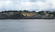 NorStone quarry at Askoy  Mjolkevikvarden, Herdla, near Bergen, Norway
