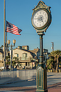 Seal Beach Centennial Clock at the Pier in Seal Beach Califonria