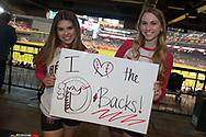 PHOENIX, AZ - APRIL 2:  Arizona Diamondbacks Rally Backs smile for a photo prior to the game against the San Francisco Giants at Chase Field on Sunday, April 2, 2017 in Phoenix, Arizona. (Photo by Jennifer Stewart/MLB Photos via Getty Images) *** Local Caption ***