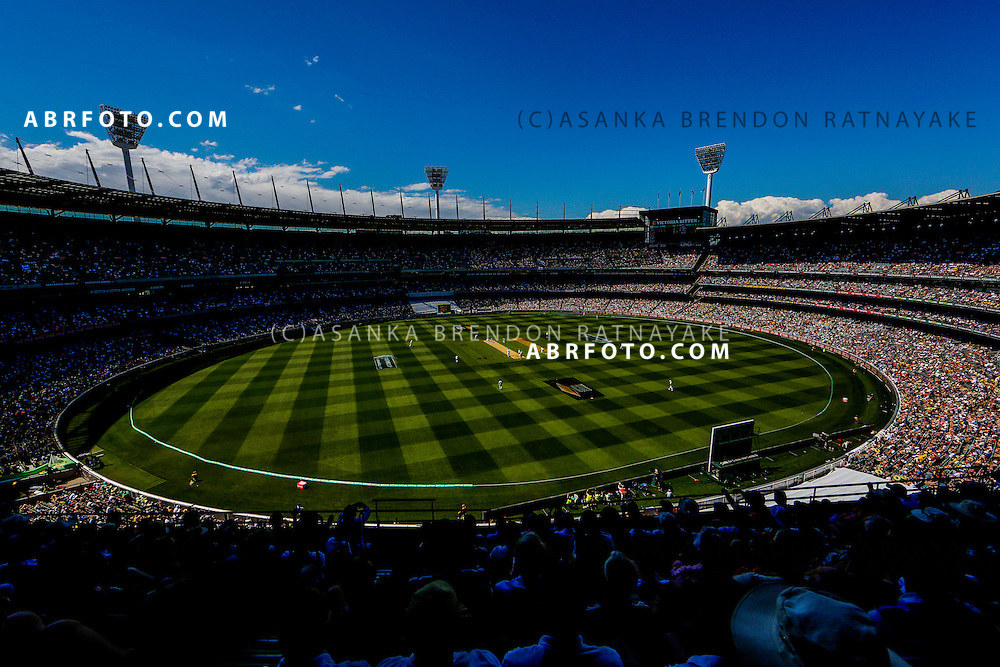 A General view of MCG taken from the top tier of the great southern stand during the during day one of the Third Ashes Test Match between Australia and England at the MCG - Boxing Day Test Australia Vs England, MCG, Melbourne Victoria, Australia. Photo Asanka Brendon Ratnayake SMP Images.