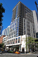 Madison Hotel, Downtown, Seattle, Washington State, USA, 200809131421.<br /> <br /> Copyright Image from Victor Patterson, Belfast, UK<br /> <br /> t: +44 28 9066 1296 (from Rep of Ireland 048 9066 1296)<br /> m: +44 7802 353836<br /> e: victorpattersonbelfast@gmail.com<br /> <br /> www.images4media.com the new website which will ultimately replace  www.victorpatterson.com<br /> <br /> Please see my full Terms and Conditions of Use at https://www.victorpatterson.com/page2<br /> It is IMPORTANT that you familiarise yourself with them.<br /> <br /> Images used on the Internet incur an additional cost and must be visibly watermarked i.e. © Victor Patterson or that of the named photographer within the body of the image. The online image must retain all the original metadata. Any changes must be agreed in writing.<br /> <br /> This image is only available for the use of the download recipient i.e. television station, newspaper, magazine, book publisher, etc, and must not be passed on to a third party. It is also downloaded on condition that each and every usage is notified within 7 days to victorpattersonbelfast@gmail.com.<br /> <br /> The right of Victor Patterson (or the named photographer) to be identified as the author is asserted in accordance with The Copyright Designs And Patents Act (1988). All moral rights are asserted.