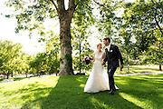 Wedding of Jordan and John at Grant-Humphreys Mansion on October 1, 2016, in Denver, Colorado.