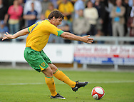 Dartford - Saturday July 11 2009: Chris Martin of Norwich City scores during the friendly match at Princes Park. (Pic by Alex Broadway/Focus Images)..