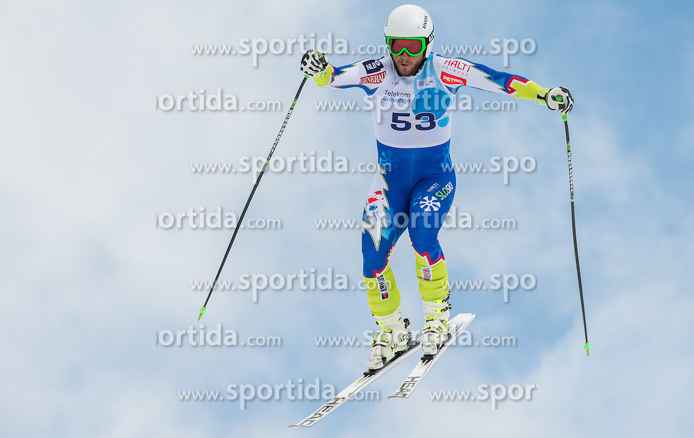 Sergij Robic during Super G at Slovenian National Championship in Krvavec, Slovenia, on April 1, 2015. Photo by Marko Mavec / Sportida.com