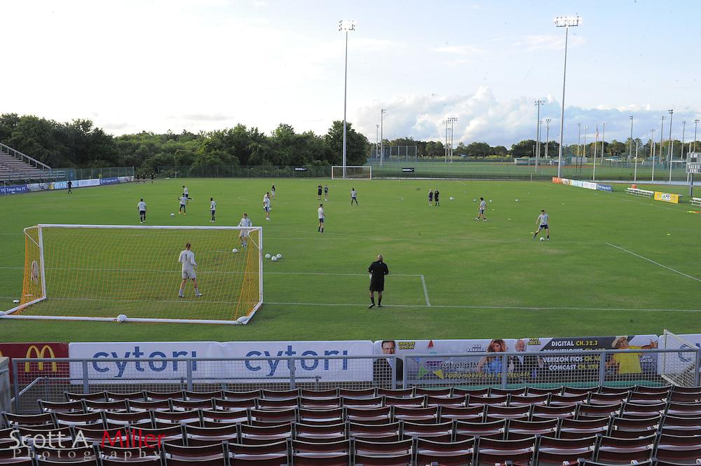 MAY 03 2013: Plant City, Florida, USA, during VSI Tampa Vs Antigua Barracuda,