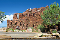 Hopi House, National Historic Landmark, Grand Canyon National Park, Arizona, USA