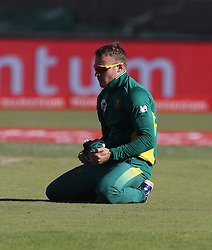 David Miller of South Africa during the 3rd ODI match between South Africa and Australia held at Kingsmead Stadium in Durban, Kwazulu Natal, South Africa on the 5th October  2016<br /> <br /> Photo by: Steve Haag/ RealTime Images