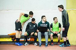 during first training of NK Olimpija Ljubljana before spring season when presented Olimpija's new coach, on January 11, 2016 in ZAK stadium, Ljubljana, Slovenia. Photo by Vid Ponikvar / Sportida