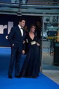 Tara Palmer-tompkinson; Eduardo Teodorani-Fabbr, Ark fundraising dinner and auction. ( Absolute Return for Kids ) Old Eurostar Terminal. Waterloo Station. London. 4 June 2009
