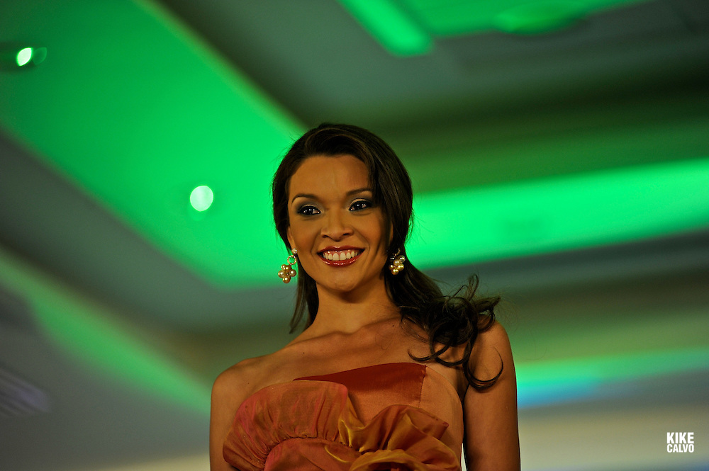 Miss Panama 2010. Miss ¨Sen?orita Panama¨ beauty pageant  at the Sheraton Hotel. Panama.