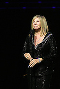 (102206  Boston, MA)  Barbara Streisand performs at the TD Banknorth Garden.