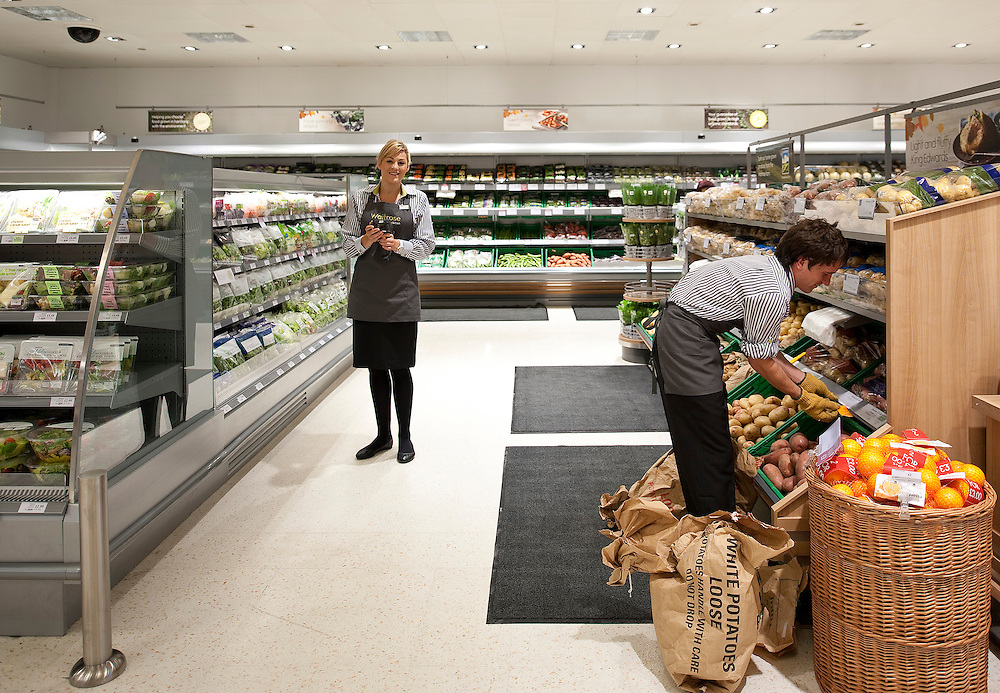 Waitrose Opening Surbiton - Sazanne Boon and Steve Barrett