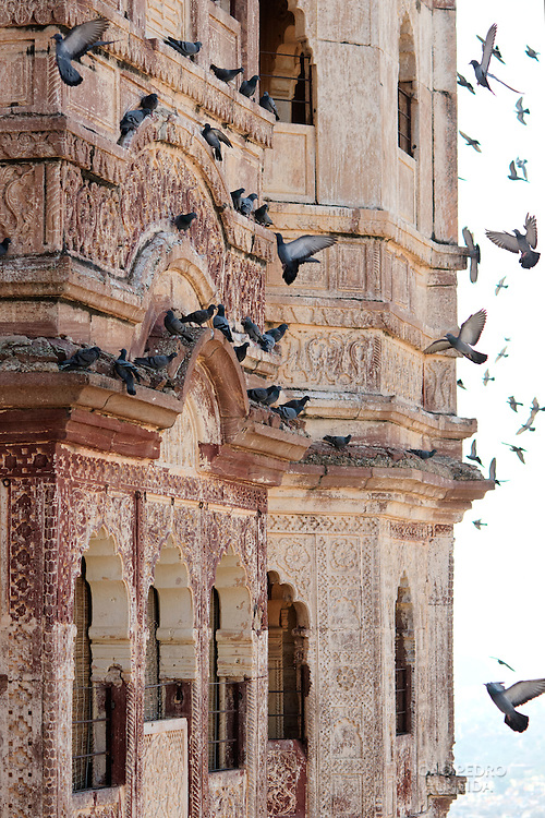 The balconies of  Mehrangarh Fort, Jodhpur