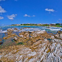 Alberto Carrera, Rocky Coast, Kleinbaai, Gansbaai, Western Cape, Atlantic Ocean, South Africa, Africa