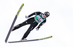 13.01.2019, Stadio del Salto, Predazzo, ITA, FIS Weltcup Nordische Kombination, Skisprung, im Bild Pawel Slowiok (POL) // Pawel Slowiok of Poland during Skijumping Competition of FIS Nordic Combined World Cup at the Stadio del Salto in Predazzo, Italy on 2019/01/13. EXPA Pictures © 2019, PhotoCredit: EXPA/ JFK