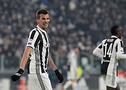 December 23, 2017 - Turin, Italy - Mario Mandzukic during Serie A match between Juventus v Roma, in Turin, on December 23, 2017  (Credit Image: © Loris Roselli/NurPhoto via ZUMA Press)