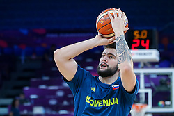 Ziga Dimec of Slovenia during basketball match between National Teams of Germany and France at Day 10 in Round of 16 of the FIBA EuroBasket 2017 at Sinan Erdem Dome in Istanbul, Turkey on September 9, 2017. Photo by Vid Ponikvar / Sportida