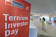 Ternium Investor Day at The Guggenheim Museum on June 16, 2016 in New York City. (Photo by Ben Hider)