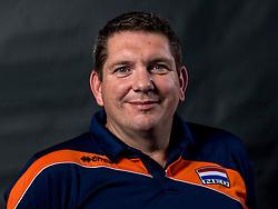 22-09-2017 NED: Portret zitvolleybalsters Oranje 2017-2018, Leersum<br /> Nederland bereidt zich voor op het komende EK zitvolleybal / Ass. coach Anton Sch&auml;ffer Schaffer