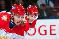 KELOWNA, CANADA - NOVEMBER 9:  on November 9, 2015 during game 1 of the Canada Russia Super Series at Prospera Place in Kelowna, British Columbia, Canada.  (Photo by Marissa Baecker/Western Hockey League)  *** Local Caption ***