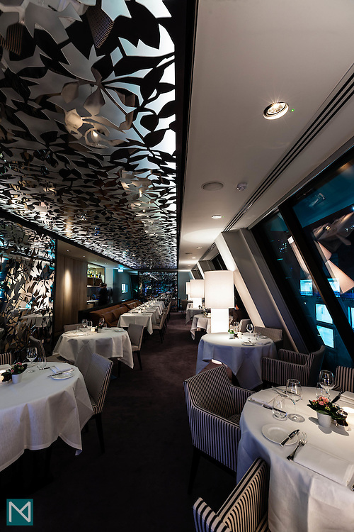 Angler restaurant at the South Place Hotel in London, for HotelTonight