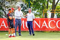 Leonardo JARDIM / Luis CAMPOS / Vadim VASILYEV  - 29.06.2015 - Reprise Entrainement de Monaco  - 2015/2016<br />Photo : Jc Magnenet / Icon Sport