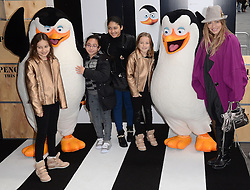 Elen Rivas attends Penguins of Madagascar Multimedia Screening at Vue West End, Leicester Square, London on Saturday 29th   November 2014