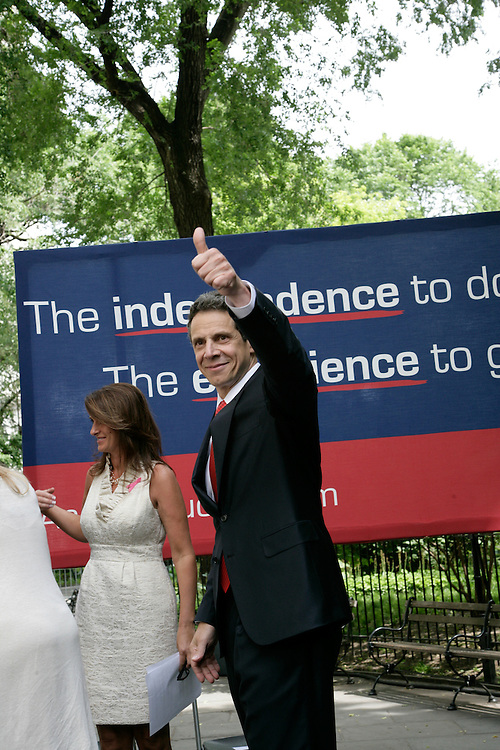 May 22, 2010, Attorney General Andrew Cuomo announced his candidacy for the Governor of New York State.