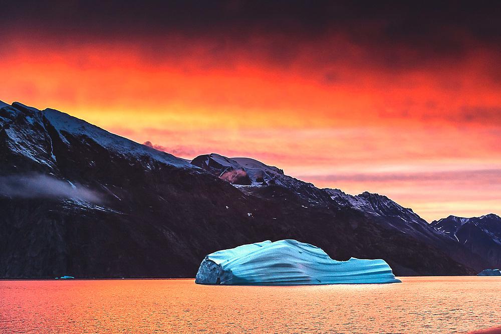 Eskimo Bukta at Scoresby Sund, Greenland