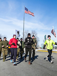 Day 5, Kittery, Gary Allen runs 500 miles from Maine to the Super Bowl raising money for Wounded Warriors