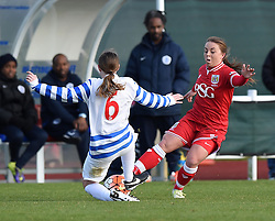 Paige Sawyer of Bristol City Women - Mandatory by-line: Paul Knight/JMP - Mobile: 07966 386802 - 14/02/2016 -  FOOTBALL - Stoke Gifford Stadium - Bristol, England -  Bristol Academy Women v QPR Ladies - FA Cup third round