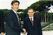 Bogdan Tanjevic<br /> Giovanni Petrucci
