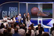 Alessandro Sandro Gamba, Alessandro Mamoli, Enrico Gilardi<br /> Raduno Nazionale Italiana Maschile Senior<br /> Media Day - Sky <br /> Milano, 21/07/2017<br /> Foto Ciamillo-Castoria/ M.Ceretti