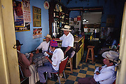 A typical cafe scene in the village of El Retiro, Antioquia.