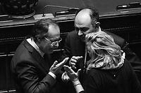 ROMA - 30 GENNAIO 2015: Prima votazione per l'elezione del 12esimo Presidente della Repubblica a Montecitorio, Roma, il 30 gennaio 2015
