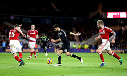 Diego Costa of Chelsea takes on the Middlesbrough defence - Mandatory by-line: Robbie Stephenson/JMP - 20/11/2016 - FOOTBALL - Riverside Stadium - Middlesbrough, England - Middlesbrough v Chelsea - Premier League