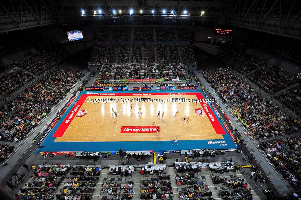 Aus vs NZ / General views<br /> 2011 Holden Netball Test Series<br /> Australia vs New Zealand <br />  Sunday 30 October 2011<br /> Hisense Arena/ Melbourne Australia <br /> &copy; Sport the library / Jeff Crow