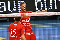 20160402 BEL: Volleybal: Volley Lindemans Asse Lennik - Noliko Maaseik, Zellik  <br />Gijs Jorna