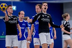 27-01-2018 NED: OVVO/De Kroon - Oost Arnhem, Maarssen<br /> De korfballers/sters uit Arnhem winnen met 24 - 22 / Thijs Broenink #9