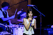 Charlotte Gainsbourg performs at Webster Hall, NYC in support of her album, IRM. April 25, 2010. Copyright © 2010 Matt Eisman. All Rights Reserved.