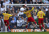 Photo: Olly Greenwood.<br />Tottenham Hotspur v Watford. The Barclays Premiership. 17/03/2007. Tottenham's Jermaine Jenas scores