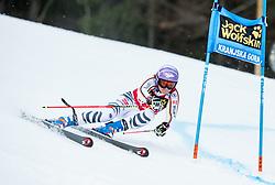 "Viktoria Rebensburg (GER) competes during 1st Run of the FIS Alpine Ski World Cup 2017/18 5th Ladies' Giant Slalom race named ""Golden Fox 2018"", on January 6, 2018 in Podkoren, Kranjska Gora, Slovenia. Photo by Ziga Zupan / Sportida"
