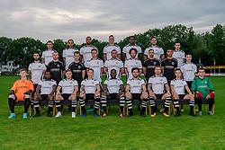 Photoshoot of the selection 2020-2021, sat 1 of VV Maarssen on 16 June 2020, sports park Daalseweide in Maarssen.