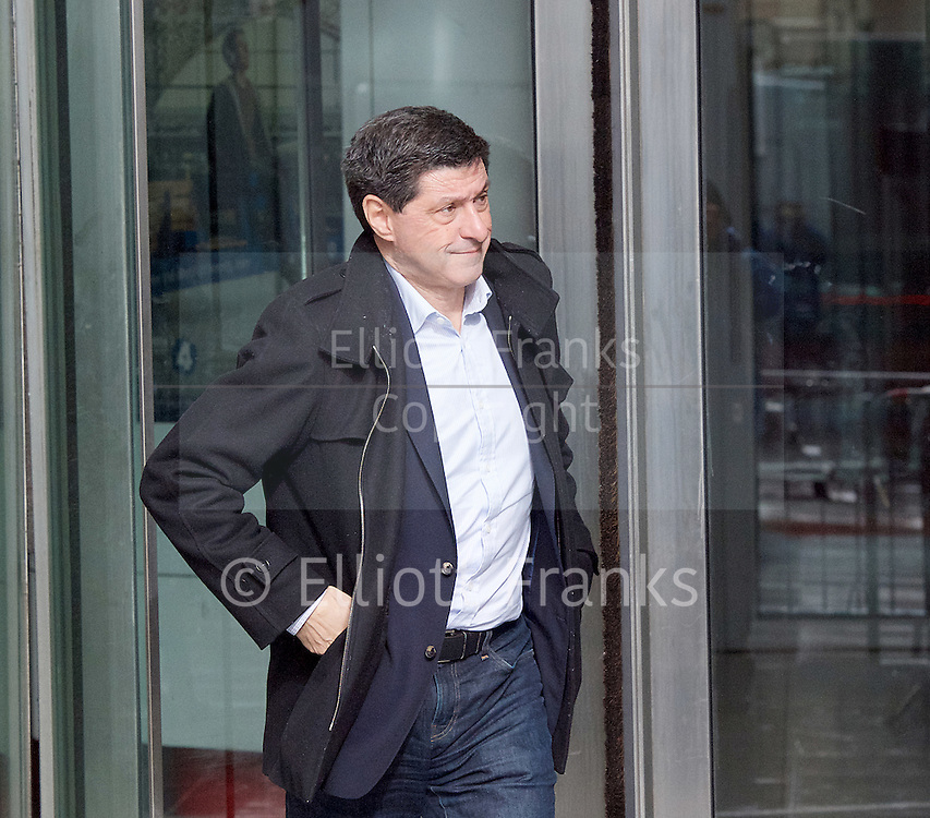 Andrew Marr Show <br /> departures<br /> BBC, Broadcasting House, london, Great Britain <br /> 5th March 2017 <br /> <br /> Jon Sopel <br /> BBC journalist <br /> <br /> Photograph by Elliott Franks <br /> Image licensed to Elliott Franks Photography Services