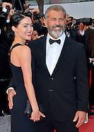 Mel Gibson & Rosalind Ross, Cannes