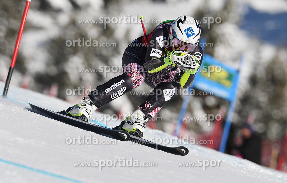 03.12.2017, Lake Louise, CAN, FIS Weltcup Ski Alpin, Lake Louise, Super G, Damen, im Bild Tina Weirather (LIE) // Tina Weirather of Liechtenstein in action during the ladie's Super G of FIS Ski Alpine World Cup in Lake Louise, Canada on 2017/12/03. EXPA Pictures &copy; 2017, PhotoCredit: EXPA/ SM<br /> <br /> *****ATTENTION - OUT of GER*****