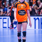 NLD/Den Bosch/20160604 - EK Kwalificatiewedstrijd handbal Nederland - Oostenrijk, Lynn Kmippenborg