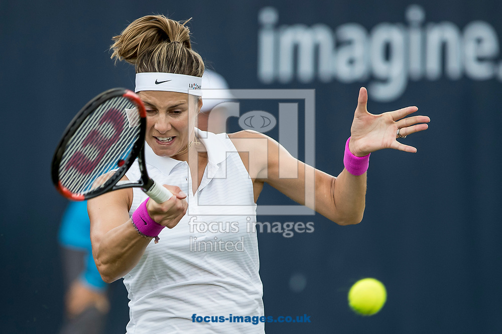 Mandy Minella (LUX) on day two of the Ricoh Open Tennis Tournament at the Autotron, Rosmalen, Netherlands.<br /> Picture by Joep Joseph Leenen/Focus Images Ltd +316 5261929<br /> 13/06/2017<br /> ***NETHERLANDS OUT***